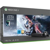 Consola Xbox One X 1TB negra + Star Wars Jedi : Fallen Order
