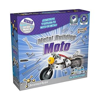 Science4you: Moto metal building