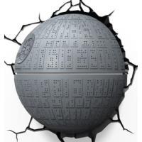 Lámpara decorativa pared 3D Star Wars Estrella de la Muerte