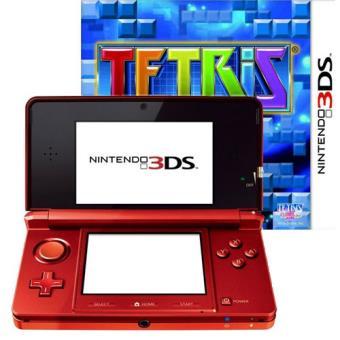 Nintendo 3ds Roja Tetris Consola Los Mejores Precios Fnac