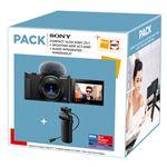 Cámara compacta Sony ZV-1 Vlog + Empuñadura VCTSGR1 Pack