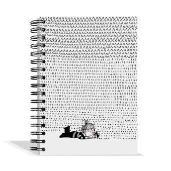 Libreta pautada a5 La Volatil Escritura
