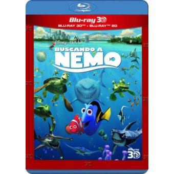 Buscando a Nemo - Blu-Ray + 3D