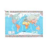 Mapa en tubo El Mundo