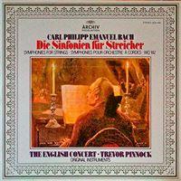 Carl Phillipp Emanuel Bach - Die Sinfonien für Streicher - Vinilo