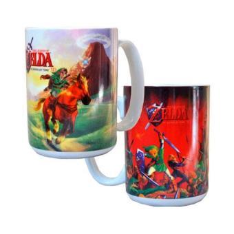 Taza Zelda Ocarina of Time 3D Roja / Verde