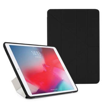 Funda con soporte Pipetto London Origami Negro para iPad Air/Pro 10,5''