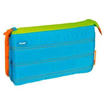 Portatodo 5 compartimentos Milan Colours azul