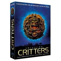 Pack Colección Critters 1-4 - Ed Coleccionista lenticular - Blu-Ray + DVD Extras + Postales