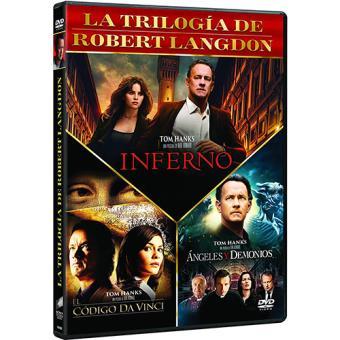Pack La trilogía de Robert Langdon - DVD