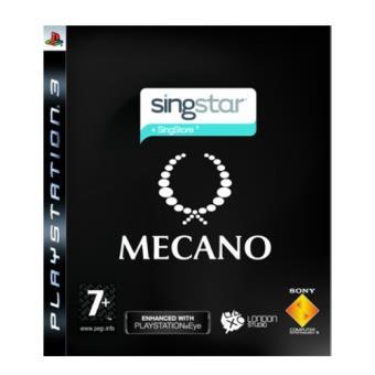 Singstar Mecano PS3