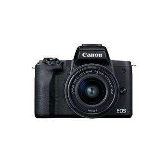 Cámara EVIL Canon EOS M50 Mark II 15-45 mm Negro