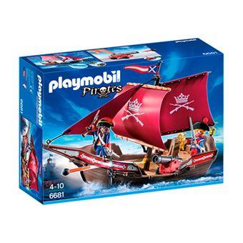 Playmobil Piratas Barco patrulla de soldados