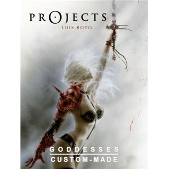 Projects Goddesses Art Book