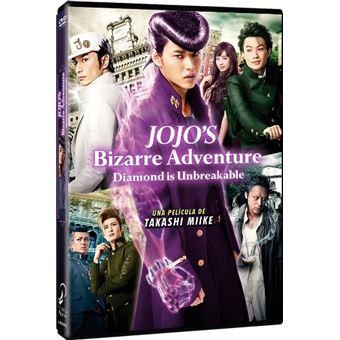 Jojo'S Bizarre Adventure Diamond Is Unabreakable -  La Película - DVD