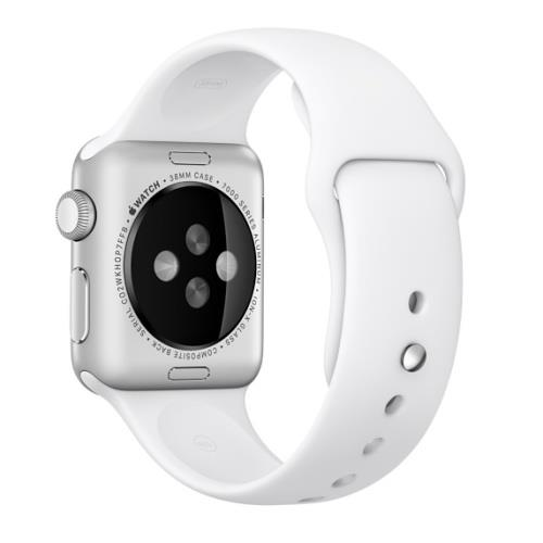 Correa Apple Watch deportiva blanco (38 mm)