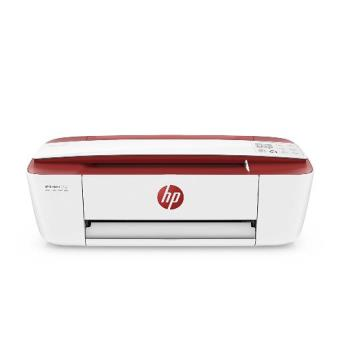 Impresora multifunción HP Deskjet DJ3733 Blanco-Rojo