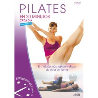 Pilates en cada minutos cada día - DVD