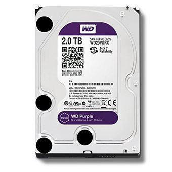 Disco duro interno WD Purple Surveillance 2TB