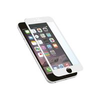 c2daa1cb960 Protector pantalla Muvit Cristal templado curvo blanco para iPhone 8 Plus