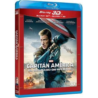 Capitán América 2: El soldado de invierno - Blu Ray + 3D