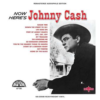 Now Here's Johnny Cash - Vinilo rojo