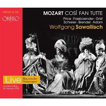 Mozart Cosi Fan Tutte - 2 CDs