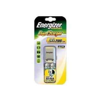 Energizer Cargador Duo 06 + 2AA mAH