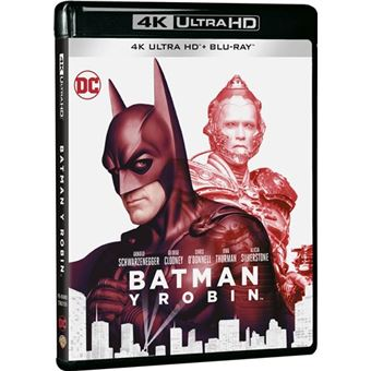 Batman y Robin - UHD + Blu-Ray
