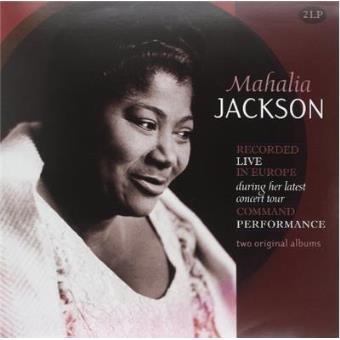 2 Original Albums: Recorded Live Mahalia Jackson - Vinilo
