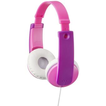 Auriculares infantiles JVC HA-KD7 Tinyphones Rosa
