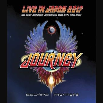 Live In Japan 2017: Escape + Frontiers - Blu-Ray