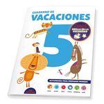 Cuaderno de vacaciones - 5 años - poster luminiscente