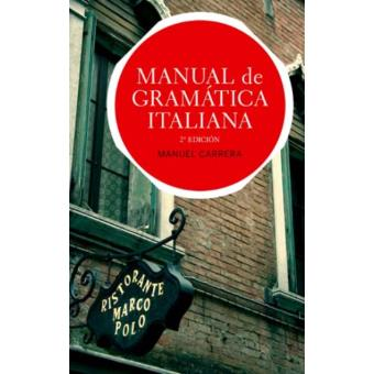 Manual de gramática italiana