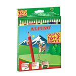 18 Lapices Alpino Wf 16+2
