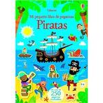 Piratas-mi pequeño libro de pegatin