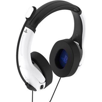 Headset gaming PDP LVL40 Blanco para PS4/PS5