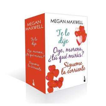Estuche Megan Maxwell Romántica