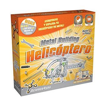 Science4you: Helicóptero metal building