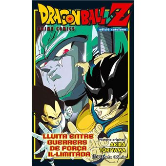 Dragon Ball Z Lluita entre guerrers de força il·limitada