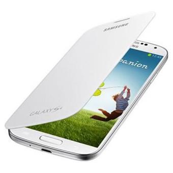 Samsung Funda Flip Cover para Galaxy S4 Blanca
