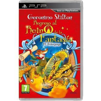 Geronimo Stilton: El Regreso al Reino de la Fantasía: El Videojuego PSP