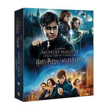 Pack J K Rowling Harry Potter La Saga Completa Animales Fantásticos Y Dónde Encontrarlos Dvd Chris Columbus Mike Newell David Yates Alfonso Cuarón Eddie Redmayne Emma Watson Fnac