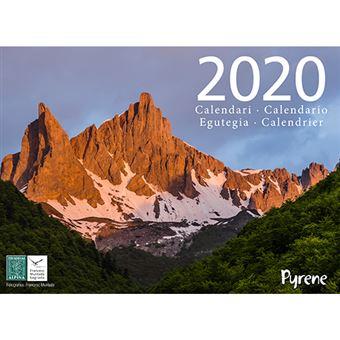 Calendario 2020 Pyrene