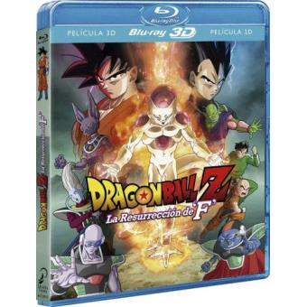 Dragon Ball Z. La resurrección de F - Blu-Ray + 3D