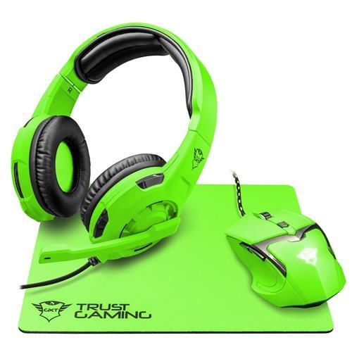 Pack gamer Trust GXT 790 Spectra Verde