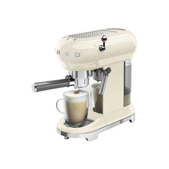 Cafetera Expresso SMEG Años 50 ECFO1CREU Crema