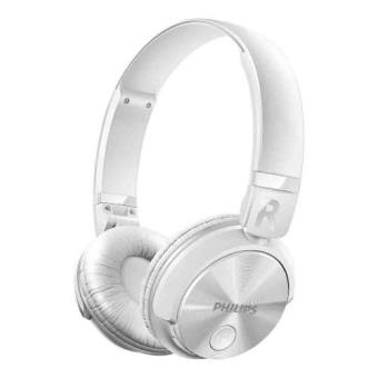 Auriculares bluetooth Dj  Philips SHB3060BK blanco