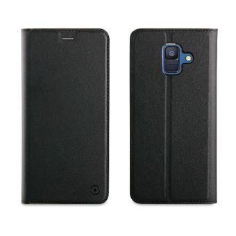 Funda Muvit Folio Negro para Samsung Galaxy A6