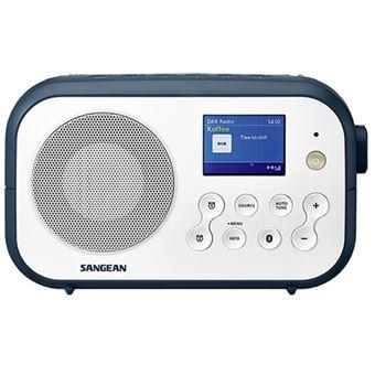 Radio Bluetooth Sangean DPR-42BT DAB+ Blanco/Azul